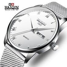 купить 2015 Mens WatchesTop Brand Luxury Casual Military Quartz Sports Wristwatch Leather Strap Male Clock watch relogio masculino по цене 1041.45 рублей
