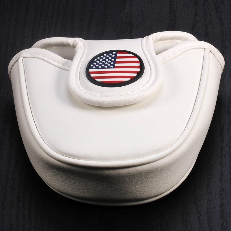Design Mallet Putter Cover Golf Headcover