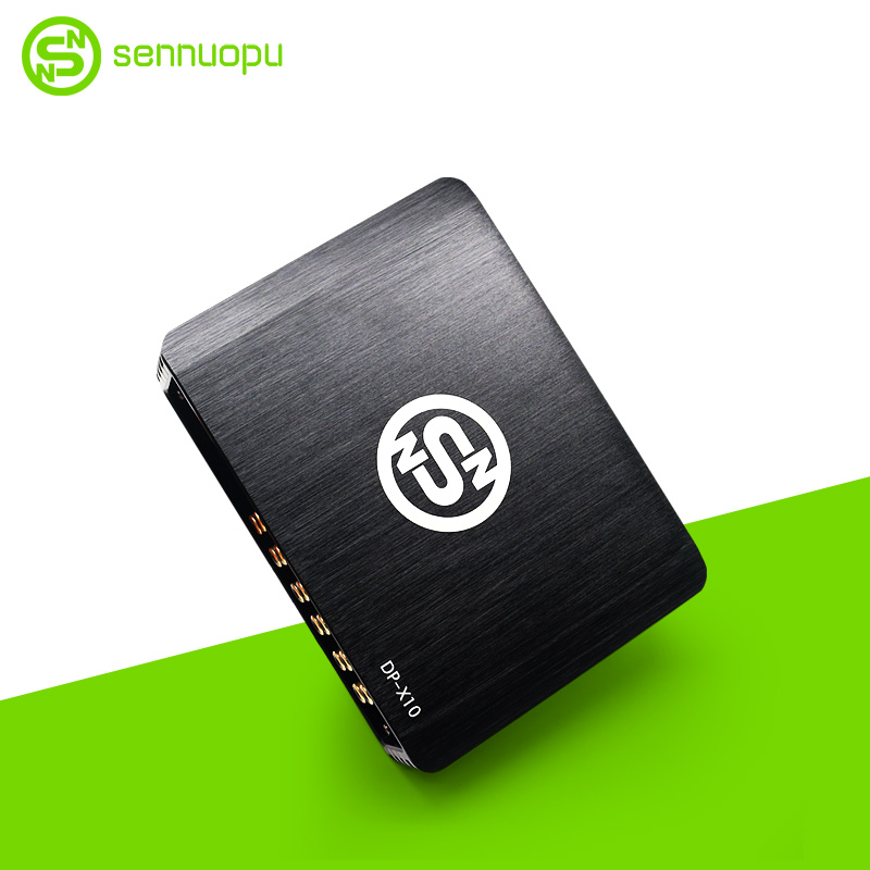 Sennuopu Car Digital DSP Amplifier 4X72W Power Car Audio Processing Amplifier 31 Bands DSP  Equalizer Precision Tuning