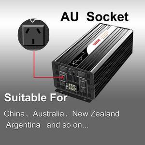 Image 4 - Onduleur pour installation solaire à onde sinusoïdale pure 5000W, 12 24 48V DC vers 110 220V AC, avec télécommande et affichage numérique