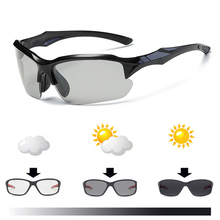 Professional Photochromic Cycling Glasses Polarized Bike Bicycle Eyewear Riding Racing Spor
