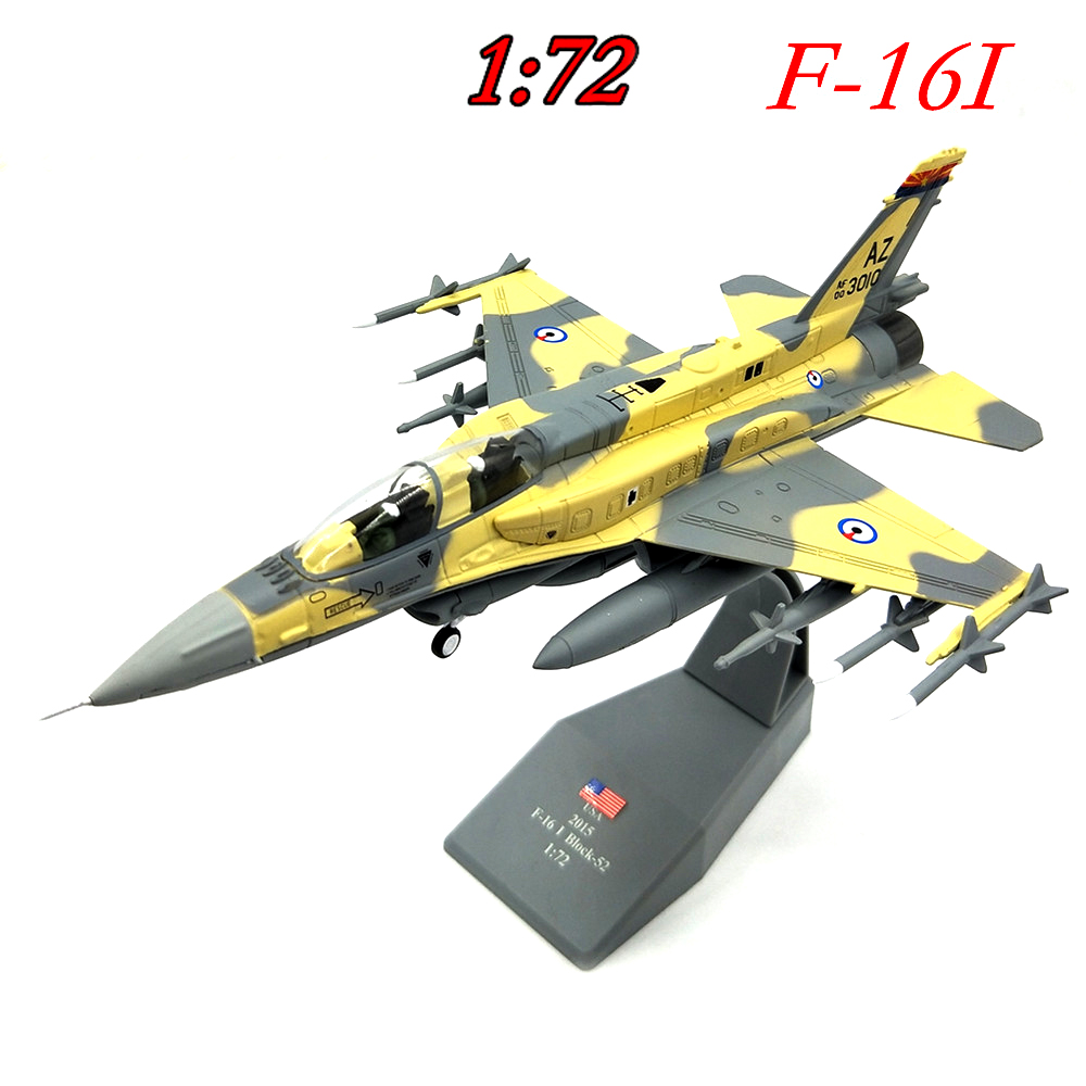 1:72  Israeli Air Force Us F16ef Fighter Model  Simulation Of Finished Products  Alloy Collection Model