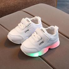 Running-Shoes Light Girls Sneakers Luminous-Boots Boys Fashion Cartoon Casual Children