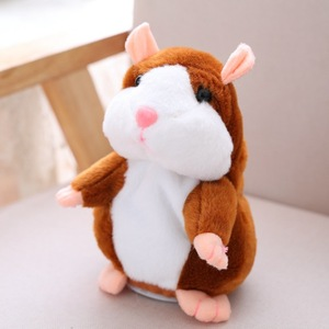 Cheeky Hamster Repeats What Yo
