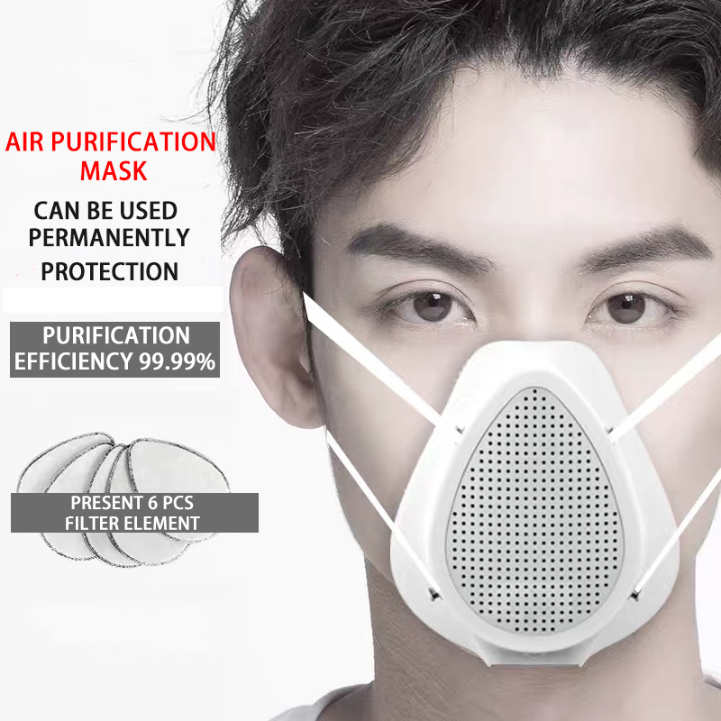 Electric Filter Anti-dust Face Mouth Mask Anti-bacterial Health Mask High Quality Air Purification For Adults And Children