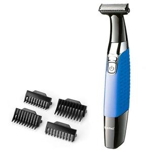 Image 1 - one blade wet dry beard shaving razor for men electric shaver usb male back hair electronic razor travel body cleaning shaver