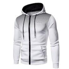 Мужчины + куртки + толстовки + пальто + повседневная + молния + толстовки + мужской + спортивный костюм + мода + куртка + мужская + одежда + зима + добавить + шерсть + толстовка