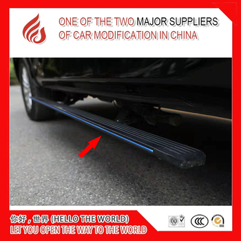 High quality aluminium alloy Automatic scaling Electric pedal side step running board with light for MDX 2014+