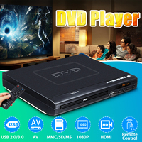 110V 240V HDMI 1080p Mini DVD Player USB/AV Portable Multiple Playback ADH DVD CD SVCD VCD MP3 JEPG JPEG Home Theatre System