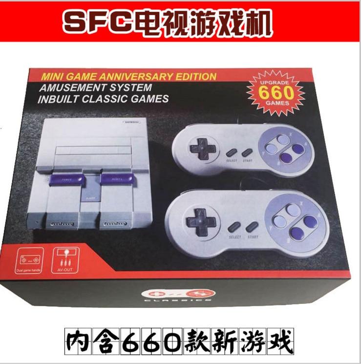 Классическая Мини-консоль, развлекательная система, совместимая с супер играми Nintendo, ретро портативная мини-консоль для видеоигр
