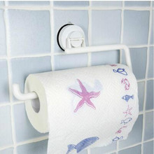 Не перфорированный кухонный Специальный держатель для салфеток рулон бумаги на присоске стеллаж для хранения крючок для туалета тряпичный кронштейн YHJ120912