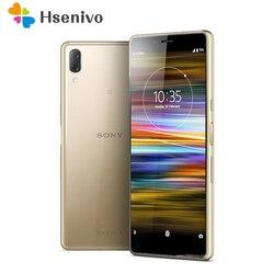 Оригинальный разблокированный сотовый телефон Sony Xperia L3, Восьмиядерный, экран 5,7 дюйма, 3 Гб ОЗУ 32 Гб ПЗУ, двойная камера 13 МП, LTE 4G, сканер отпеч...