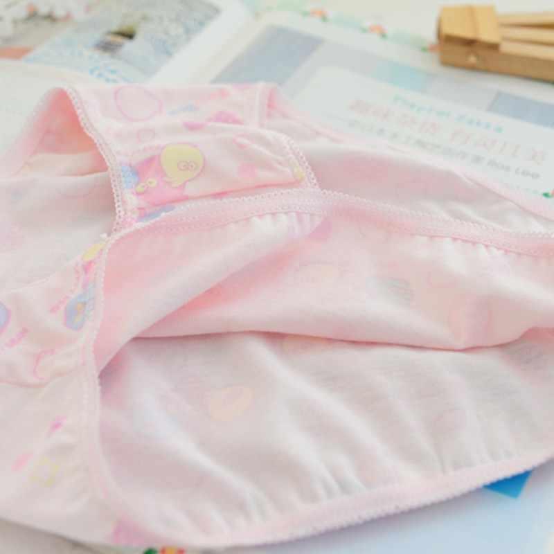 لطيف 6 قطعة/الحزمة طفل الفتيات القطن لينة سراويل فتاة الاطفال ملابس داخلية قصيرة ملخصات الأطفال السروال