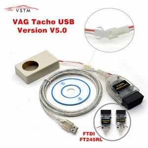 Image 1 - 2019 Vagtacho USB Versione V 5.0 VAG COM Tachi V5.0 Per NEC MCU 24C32 o 24C64 Trasporto Libero