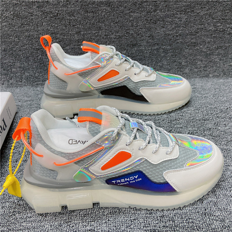Fashion Trend In New Man Jogging Shoes 2021 Summer Joker Increased Ventilation Casual Shoes