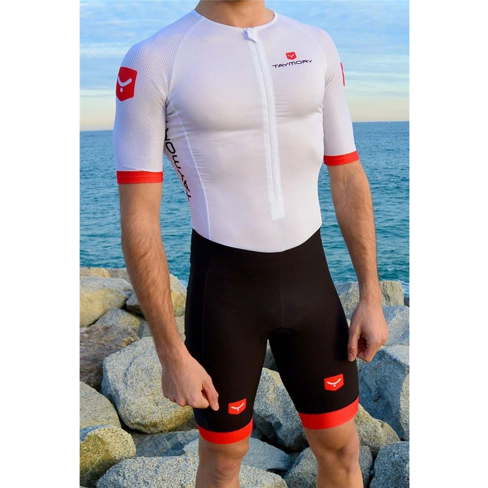 Taymory Trisuit Professional Triathlon Sportswear Cycling Tights Can Add Logo Professional Competition Clothing Bike Race Kits