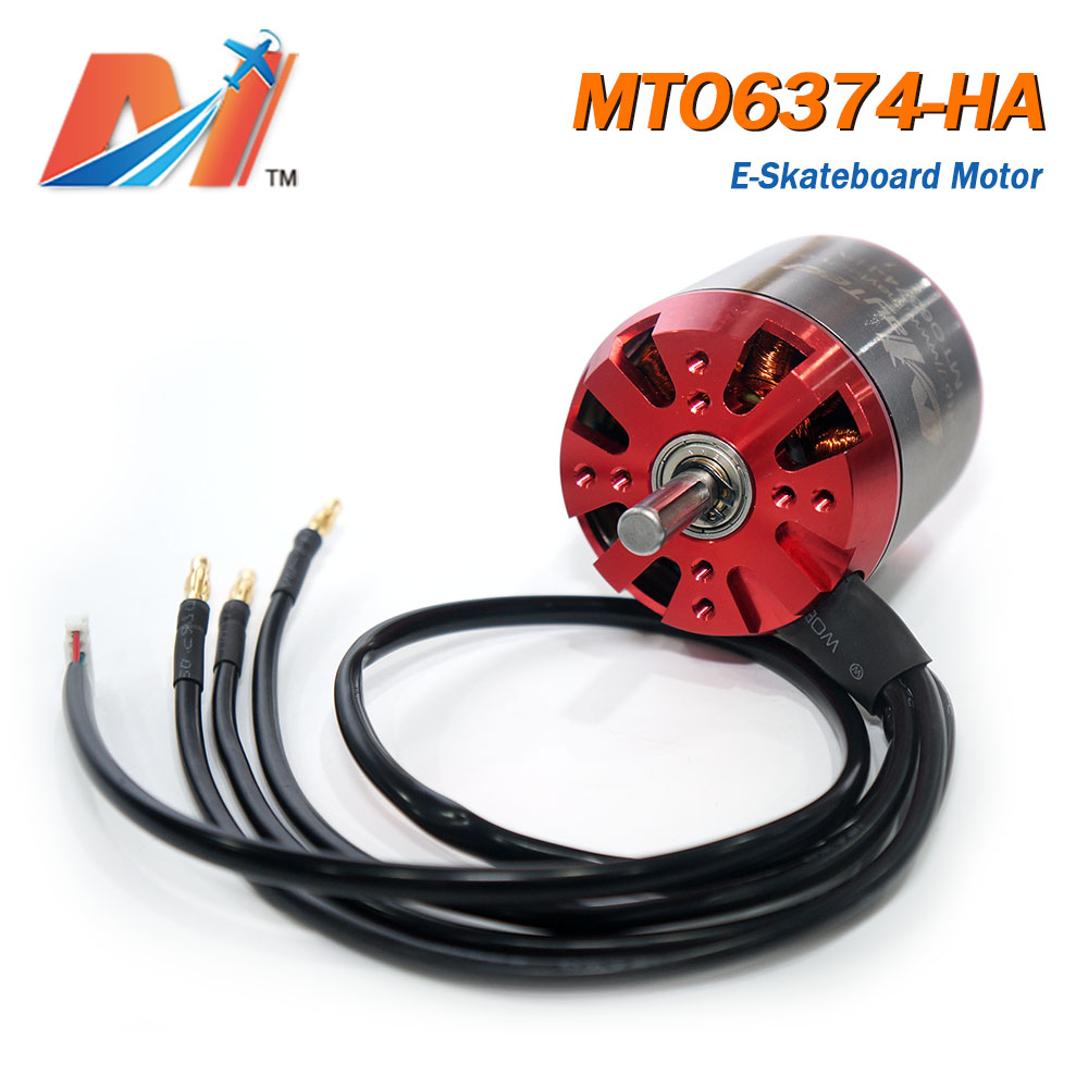 Maytech Electronic Longboard 6374 Brushless Outrunner Motor With Low KV 90KV For Boosted Electric Skateboard Scooter