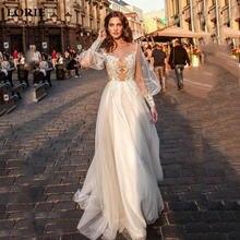 Лори принцессы Свадебное платье 2021 трапециевидной формы с