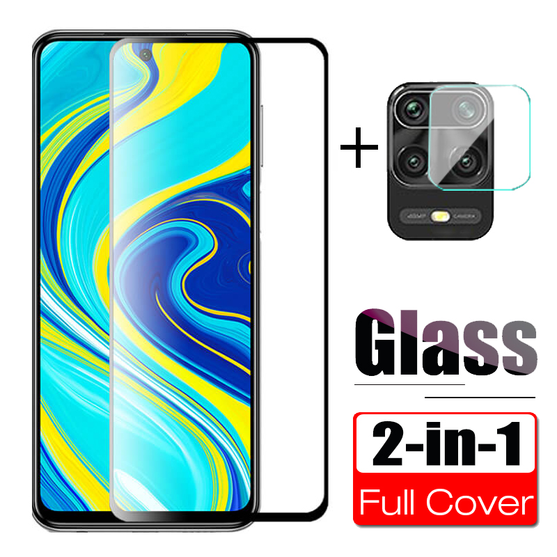 9D Tempered Glass For Xiaomi Redmi Note 9s Protective Glass On Xiomi Redmi Note 9 9s Back Camera Protector Full Cover Note9 Film