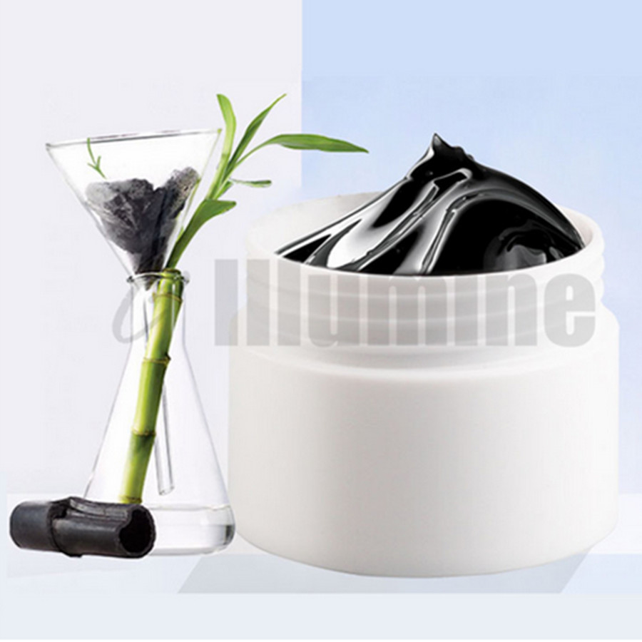 Peel Off Bamboo Charcoal Blackhead Mask Tearing Type 1000g Black Suction Nose Film Cleaning Acne - 3