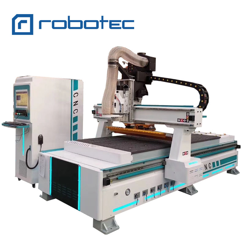 Factory Directly Supply Woodworking Wood Cutting And Engraving Atc Cnc Router Machine 1325 Atc Cnc With Yaskawa Servo Motor