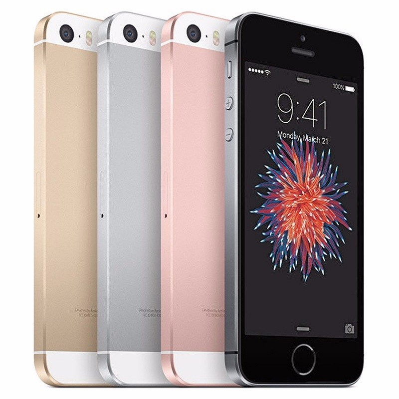 Gebruikt Iphone Originele Unlocked Apple Iphone Se Vingerafdruk Dual-Core 4G Lte Smartphone 2 Gb Ram 16/ 32/64/128 Gb Rom Touch Id Telefoon title=