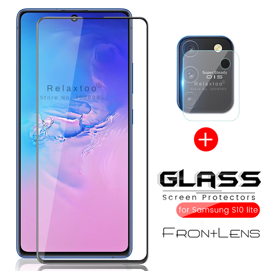 2-in-1 For Samsung S10 Lite Glass Camera Protector For Samsung Galaxy S 10 Lite Light 2020 Sm-g770f 6.7'' Protective Film Cover