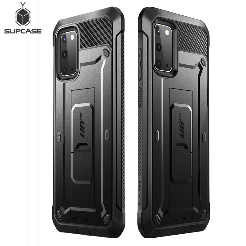 SUPCASE For Samsung Galaxy S20 Case/ S20 5G Case (2020 Release) UB Pro Full-Body Holster Cover WITHOUT Built-in Screen Protector