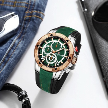 REWARD Men Quartz Watches Business Dress Waterproof Wristwatch Men Luxury silicone Sports watch men Gifts Montre homme 3