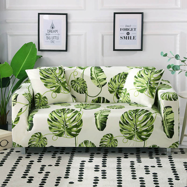 1 шт чехол для дивана эластичный с цветочным принтом линия стиль фотография