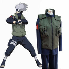 japanese Anime naruto Cosplay Hatake Kakashi Hokage vest GREATER NINJA Halloween party VEST costume