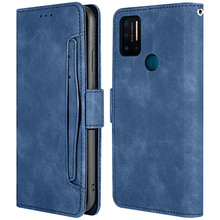 For Umidigi A7 Pro Case Card PU Leather and TPU Wallet Multi-card Slots Magnetic Flip Stand Protective Cover For Umidigi A7 Pro