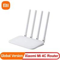 Xiaomi-enrutador Mi 4C de 300Mbps, inalámbrico, WIFI, 5dBi, 2,4 GHz, 802.11a/b/g, con cuatro antenas para el hogar y la Oficina