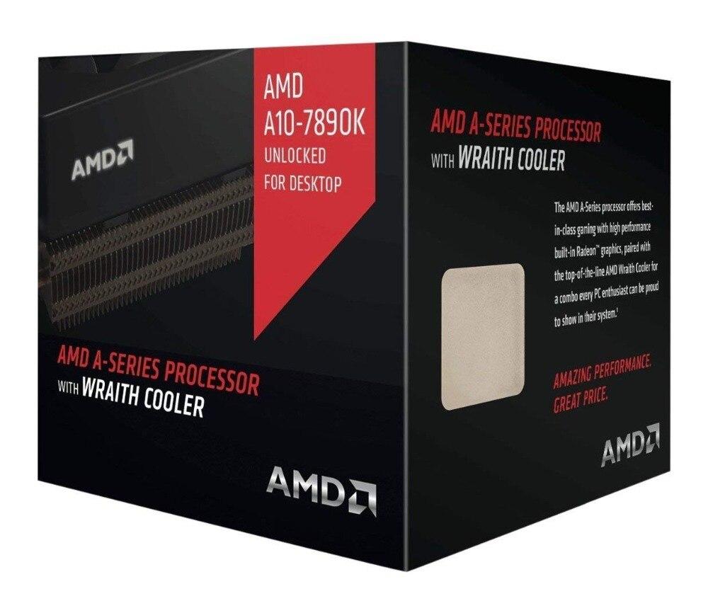 AMD A10-7890K A10 7890K CPU Processor Quad-Core 4.1GHz 95W 2MB Socket FM2+ Cache Desktop Boxed With CPU Cooler Fan NEW