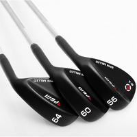 PGM Golf Clubs Sand Bar Cut Rod CNC Face Groove Stainless steel Golf Wedges Club Occupation Shaft /Cutter/Wedge 50 64 Degree