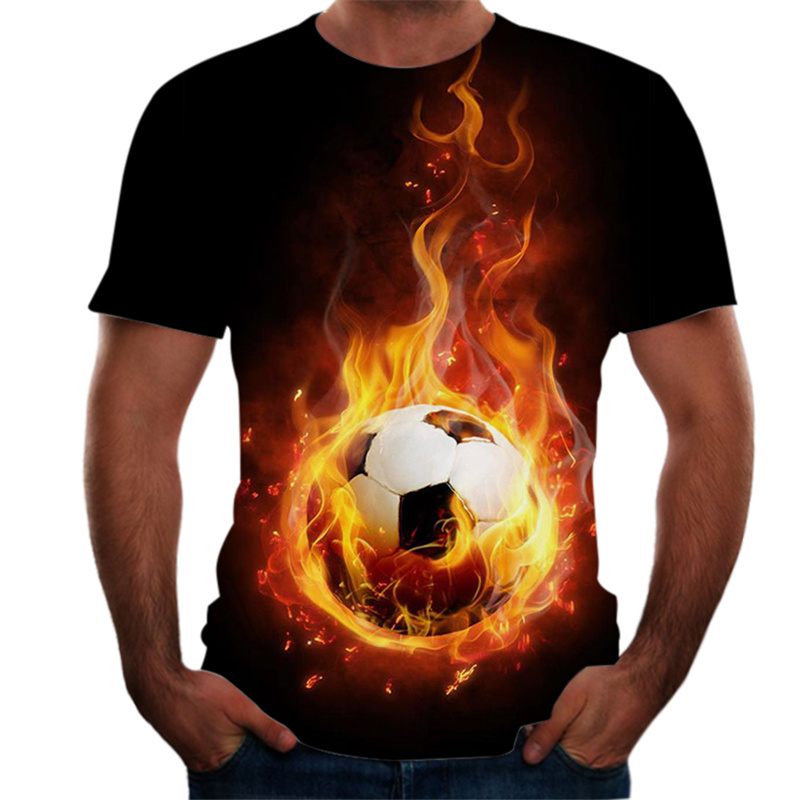 Summer T-shirt 3D/beer/letters/poker/printing men and women fun novelty T-shirt O-neck short sleeve top fashion street T-shirt