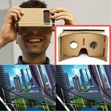 VR Ulter DIY Cardboard 3D Box VR Virtual Reality Glasses For Smartphone DIY Magnet Google Cardboards Glasses pimax 4k virtual pc glasses vr 3d box glasses video helmet cardboard with headphone with auto light adjustment
