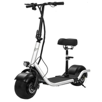 Electric Scooter Bike Two Wheels Electric Scooter 36V 350W Motorcycle Portable Smart Electric Citycoco Scooter With Seat