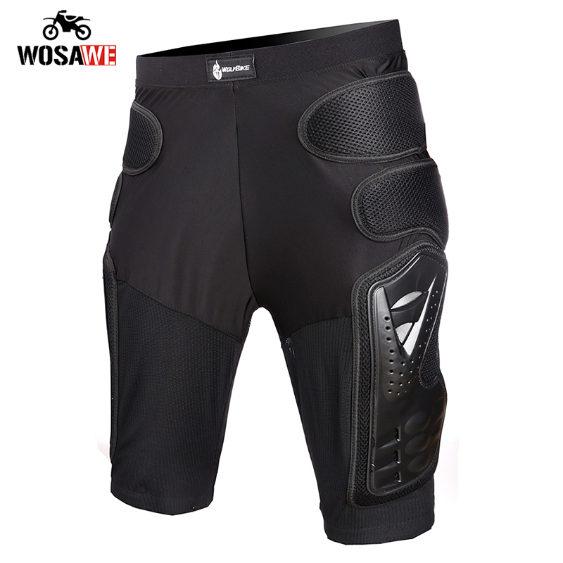 WOSAWE Skiing Motorcycle Shorts Motocross Hip Hip Pad protection Skateboard Snowboard Snowmobile Hip Pad Shorts Protective Gear