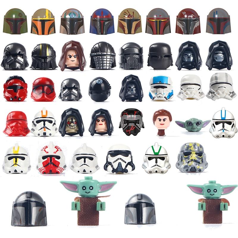Star Movie Series Wars Action Figure Bricks Building Blocks Heads Kids Gift Toys Educational Toys For Children Minifigure