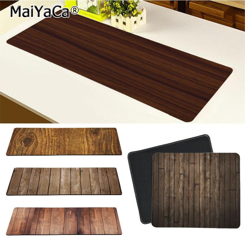 Maiya высокое качество коричневый дерево зерна красивый коврик для мышки в стиле аниме Бесплатная доставка большой коврик для мыши клавиатуры коврик Коврики для мышей      АлиЭкспресс