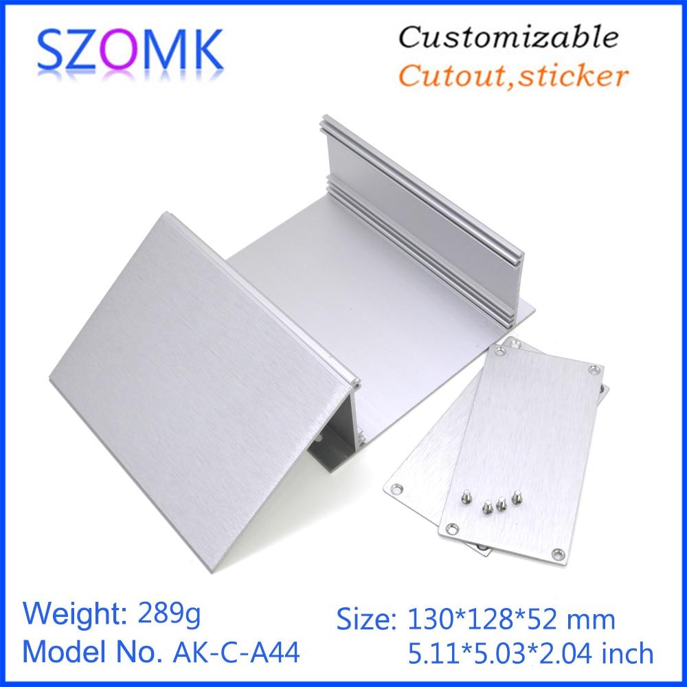 szomk aluminum enclosure for electronics device housing for pcb design audio aluminum control box enclosure casing (13)