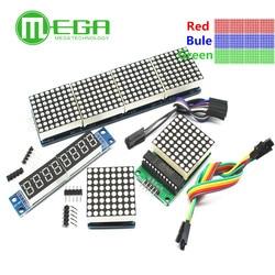 MAX7219 матричный модуль микроконтроллера модуль дисплея готовая продукция