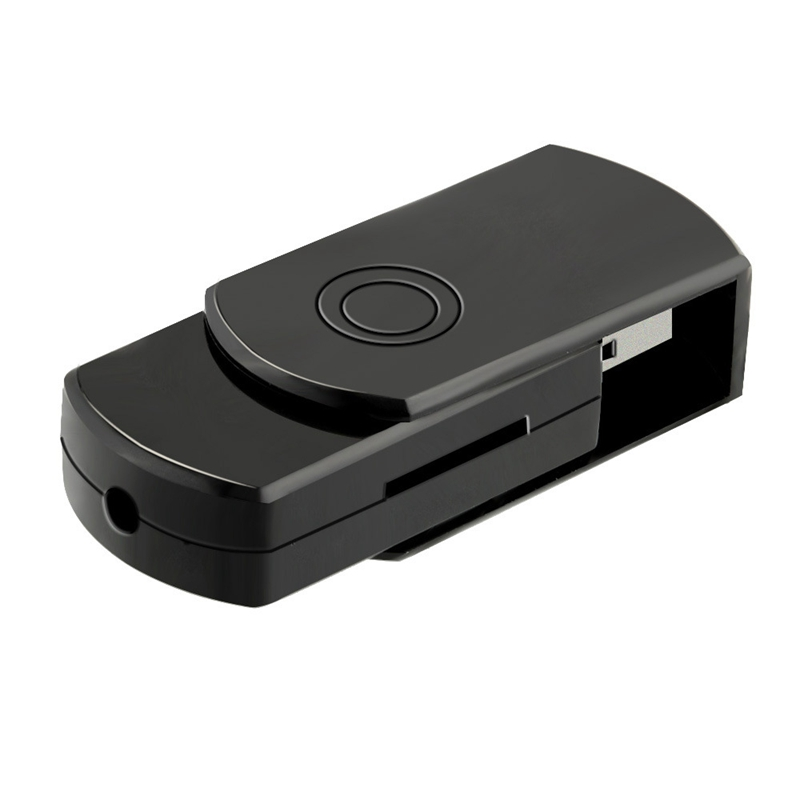 USB Mini Camera 2 In 1 USB Disk Loop Recording Portable Mini HD Camera Multi-Function Recording Rotary USB Flash Drive