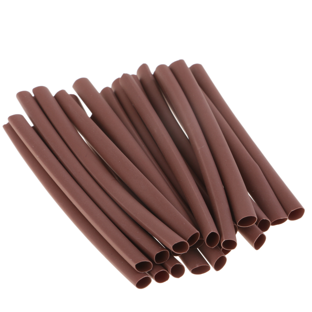 20pcs Heat Shrink Tube Rigging Material Sleeves Carp Fishing Rig Accessories