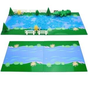 Image 3 - Plaques de Base classiques briques en plastique plaques de Base compatibles principales dimensions brank blocs de Construction jouets de Construction 32*32 points