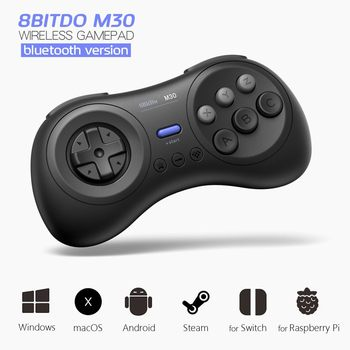 New 8Bitdo M30 bluetooth Wireless Gamepad Game Controller for Switch for Steam  Android for Windows