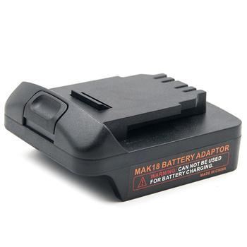 Adapter konwersji do Makita 18V akumulator litowo-jonowy do Dewalt 18V 20V tanie i dobre opinie NONE Akcesoria do baterii CN (pochodzenie)