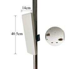 Antenne wifi 30dBi 2.4g antenne intérieure extérieure double polarisation montage mural panneau de brassage antenne plate haute qualité prix usine