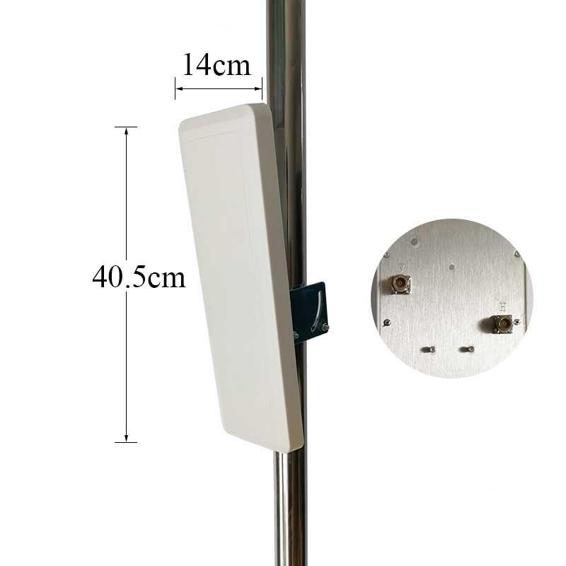 無線 lan アンテナ 30dBi 2.4 グラムアンテナ屋内 ourdoor デュアル偏光壁マウントパッチパネル平面アンテナ高品質工場出荷時の価格  グループ上の 携帯電話 & 電気通信 からの 通信用アンテナ の中 1